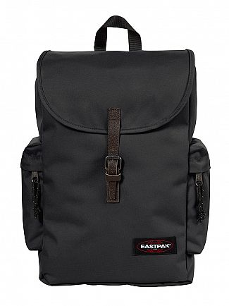 Eastpak Black Austin Logo Backpack