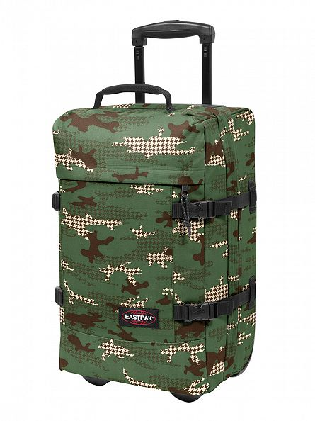 Eastpak Green Camo Tranverz S Camtooth Travel Case