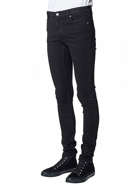 Cheap Monday New Black Tight Slim Fit Jeans