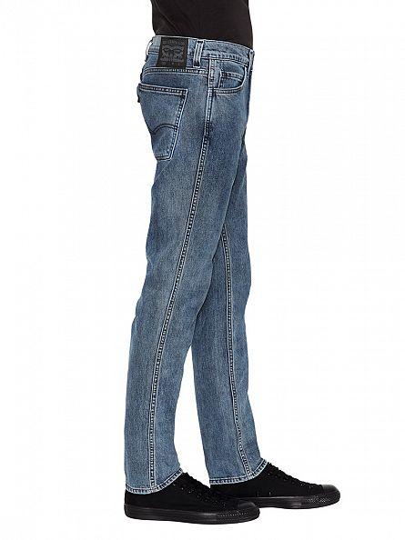 Levi's Blue Wash Line 8 511 Slim Fit Underground Jeans