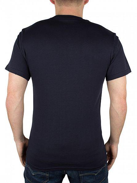 Vans Navy/Rhubarb Classic Logo T-Shirt