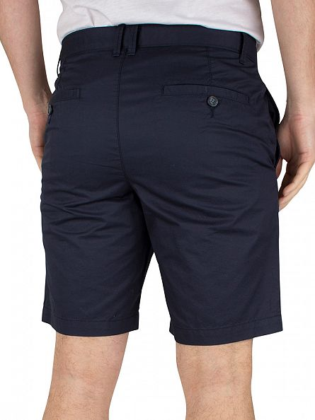 Original Penguin Dark Sapphire Slim Fit Logo P55 Chino Shorts