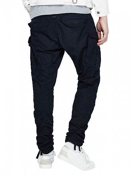 G-Star Imperial Blue/Mazarine Blue Rovic Zip 3D Tapered Cargos