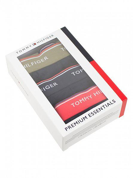 Tommy Hilfiger Navy Blazer 3 Pack Premium Essentials Trunks