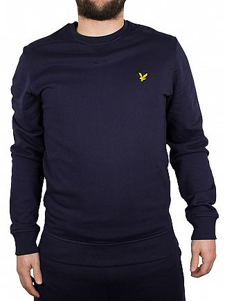 Lyle & Scott Navy Logo Sweatshirt