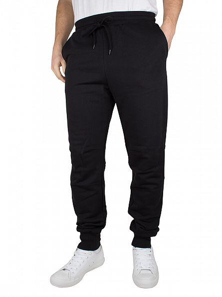Lyle & Scott True Black Slim Logo Sweat Joggers