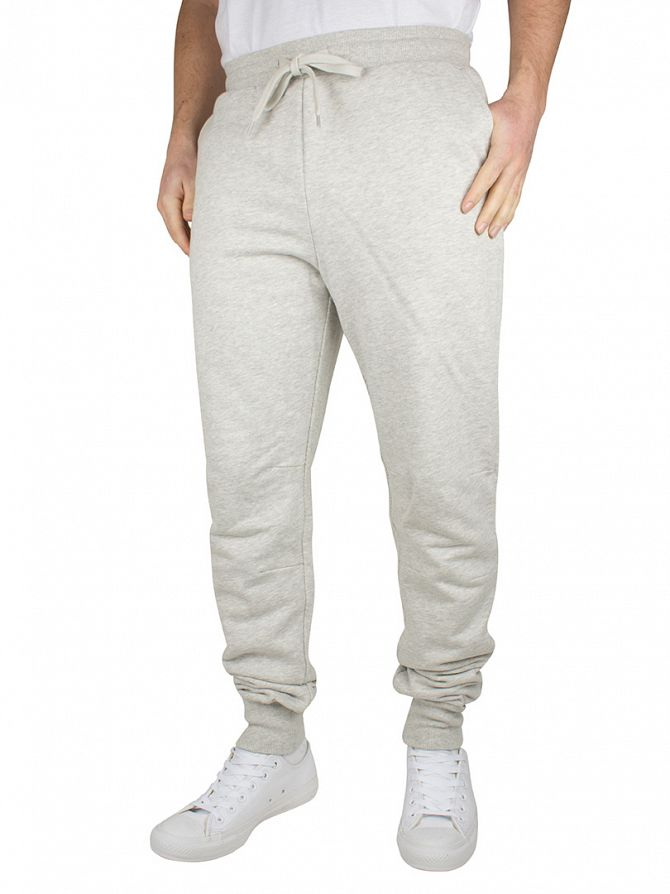 Lyle & Scott Light Grey Marl Slim Logo Sweat Joggers