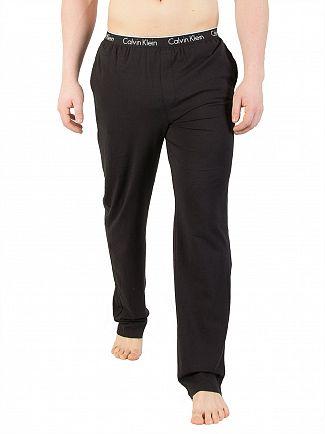 Calvin Klein Black Logo Waistband Pyjama Bottoms