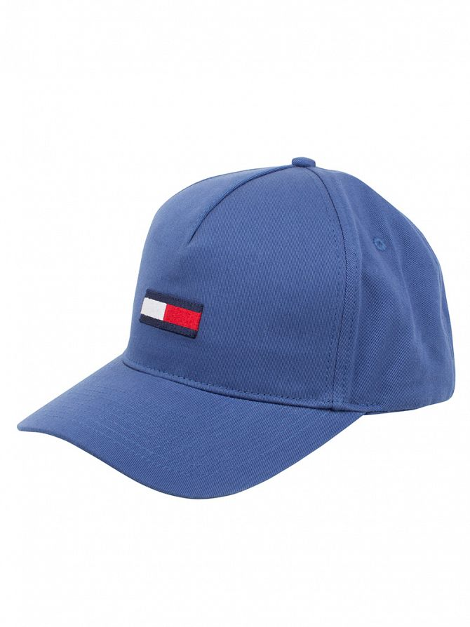 Hilfiger Denim Sodalite Blue Logo Flag Cap