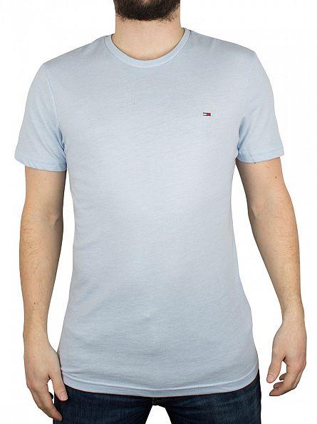 Hilfiger Denim Cashmere Blue Basic Jaspe Logo T-Shirt