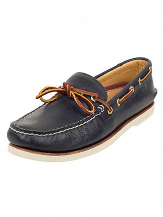 Sperry Top-Sider Navy Gold Cup Authentic 1-Eye Boat Shoes