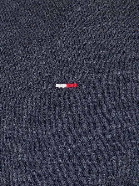 Hilfiger Denim Black Iris Navy Original Logo Sweatshirt