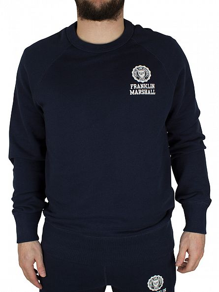 Franklin & Marshall Navy Left Chest Logo Sweatshirt Tracksuit