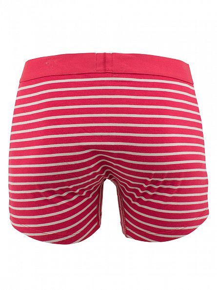 Levi's Rio Red 2 Pack 200SF Striped Cotton Stretch Boxer Briefs
