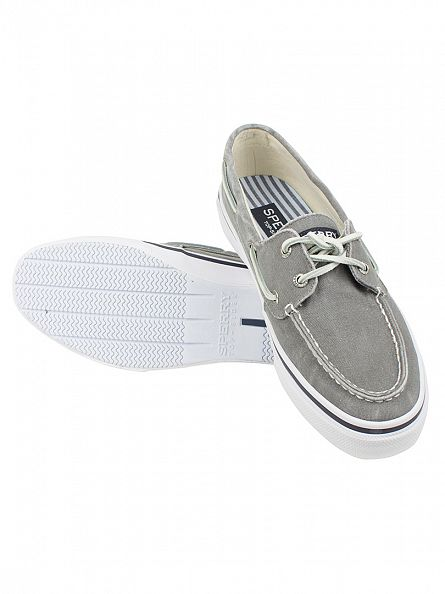 Sperry Top-Sider Grey Bahama 2-Eye Boat Shoes