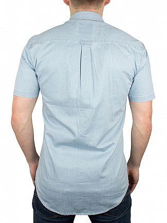 Minimum Light Blue Jon Shortsleeved Denim Shirt