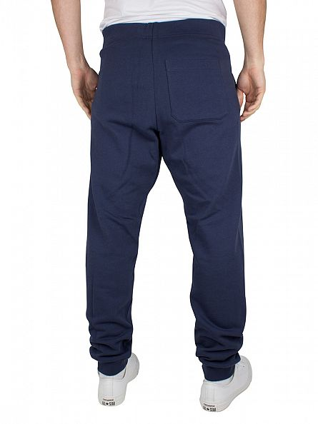 Carhartt WIP Blue/White College Logo Sweat Joggers