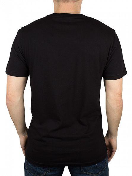 Carhartt WIP Back/White College Script Logo T-Shirt