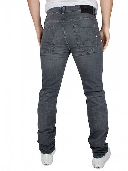 Edwin Dark Trip Used ED-80 Slim Tapered Jeans