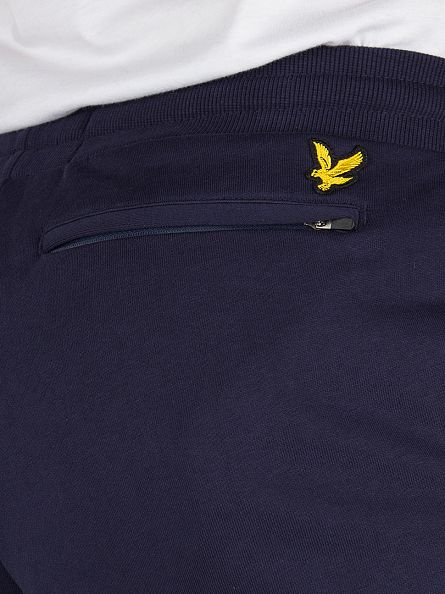 Lyle & Scott Navy Slim Logo Sweat Joggers