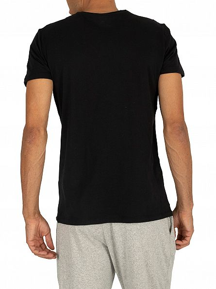 Diesel Black 3 Pack Jake Plain Logo T-Shirts