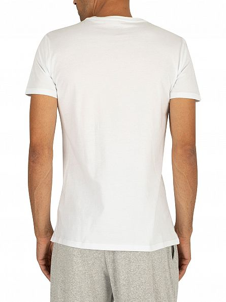 Diesel White 3 Pack Jake Plain Logo T-Shirts