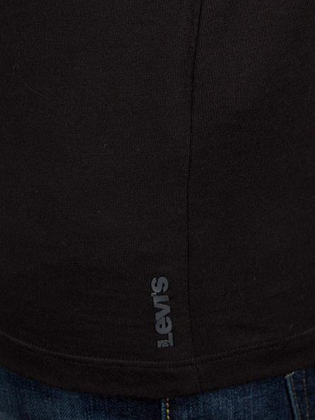 Levi's Jet Black 2 Pack 200 SF Plain T-Shirt