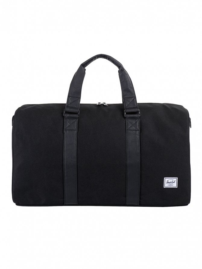 Herschel Supply Co Black Ravine Holdall Bag
