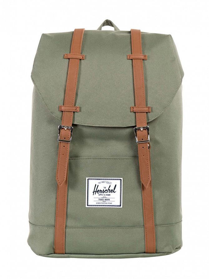 Herschel Supply Co Deep Litchen Green Retreat Backpack