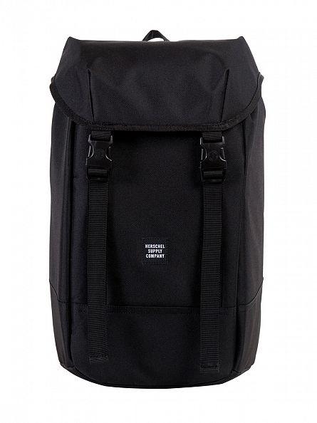 Herschel Supply Co Black Iona Straps Backpack