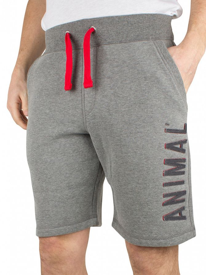 Animal Charcoal Vertical Logo Track Shorts