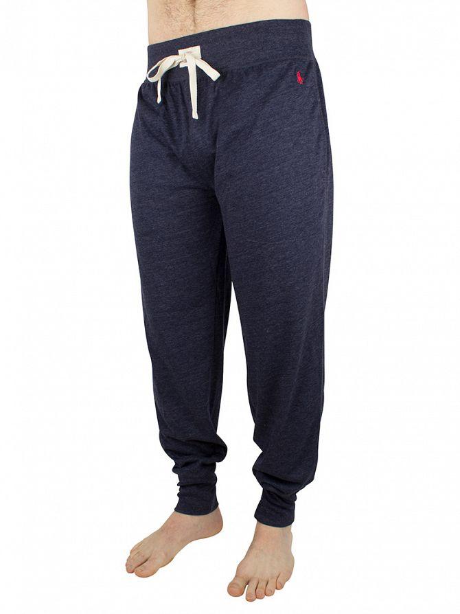 Polo Ralph Lauren Cruise Navy Logo Marled Pyjama Joggers
