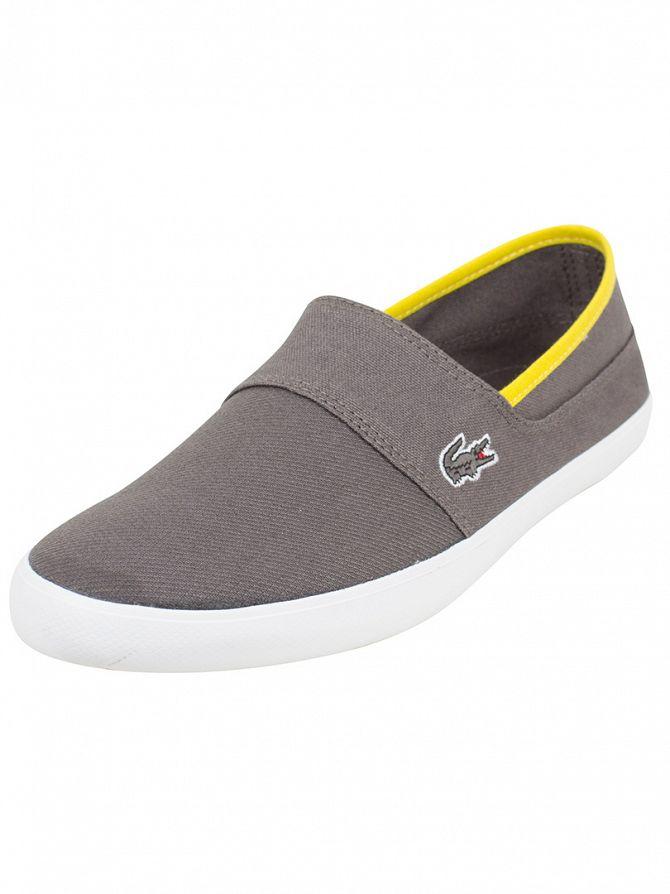 Lacoste Dark Grey Marice 116 1 SPM Slip-ons