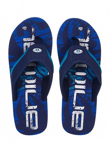 Animal Navy Jekyl Logo Flip Flops