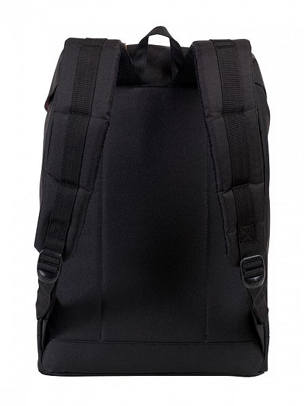 Herschel Supply Co Black Retreat Backpack