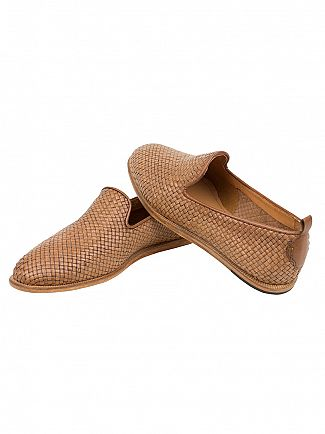 H by Hudson Tan Ipanema Weave Shoe