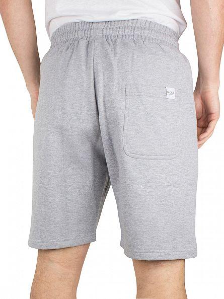 Nicce London Grey Logo Jog Shorts