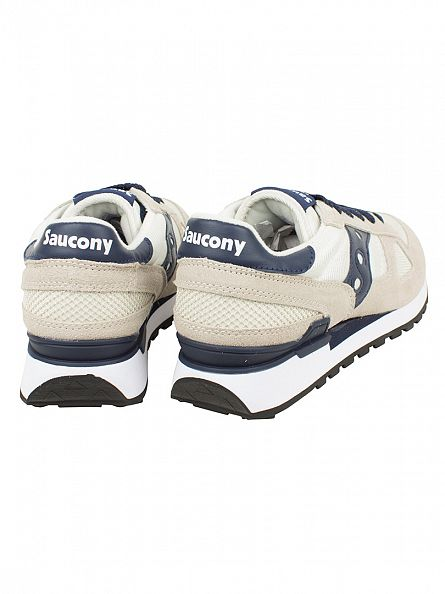 Saucony Tan/Navy Shadow Original Trainers