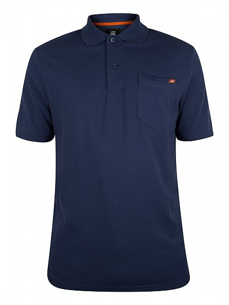 G-Star Sapphire Blue Slim Fit Pitro Pocket Polo Shirt
