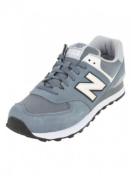 New Balance Harbor Blue/Grey 574 Trainers