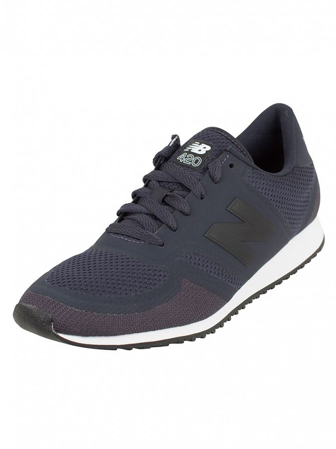 New Balance Navy/Grey 420 Trainers