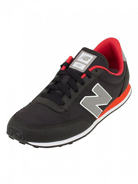 New Balance Black/Grey 410 Trainers