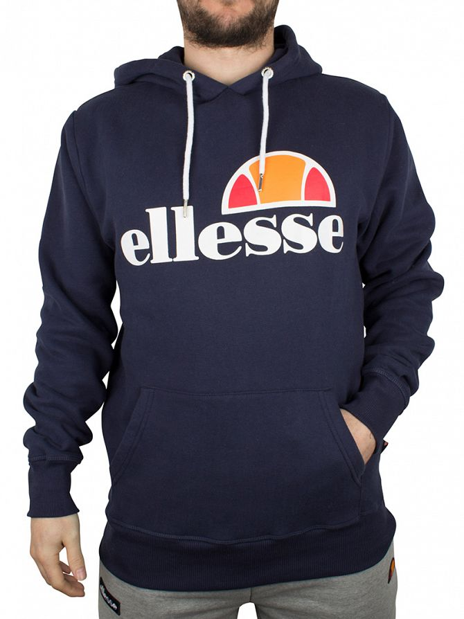 Ellesse Dress Blue Porana Over Head Hoodie