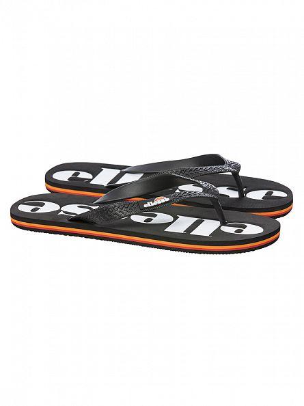 Ellesse Black/Black Trevi Flip Flops