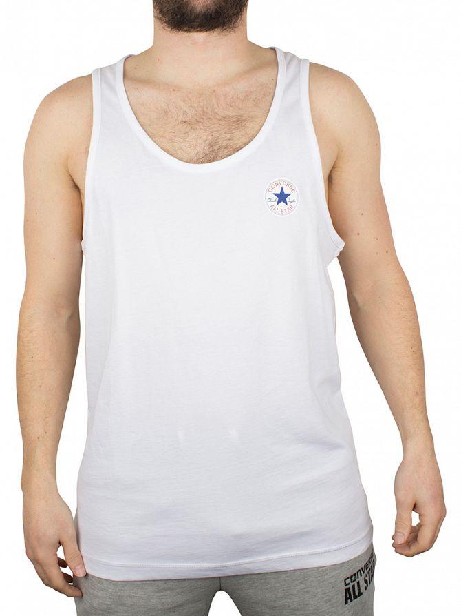 Converse White Left Logo Vest