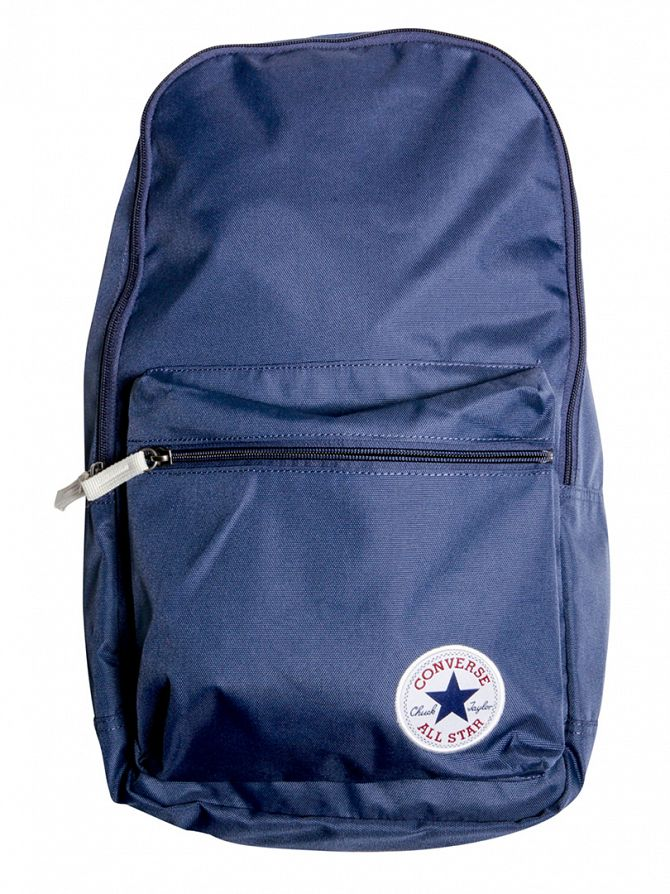 Converse Navy Logo Backpack