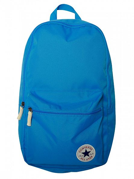 Converse Light Blue Logo Backpack