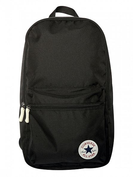 Converse Black Logo Backpack