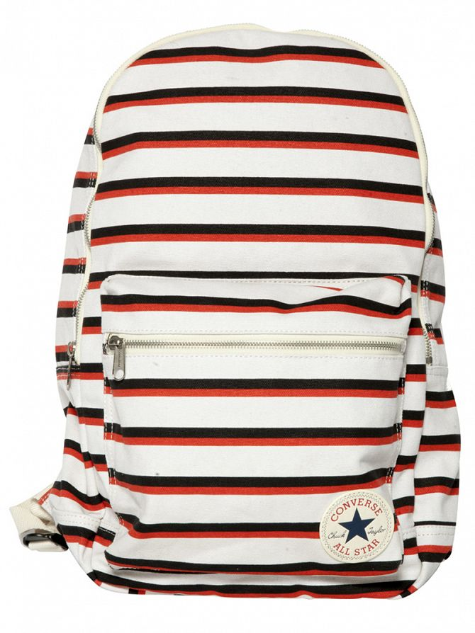 Converse Sand/Multi Striped Logo Backpack