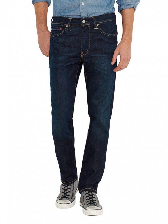 Levi's Dark Denim 511 Slim Fit Biology Jeans
